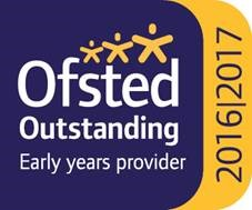 Ofsted 'Outstanding' rating 2016/2017 for Staffordshire University Nursery