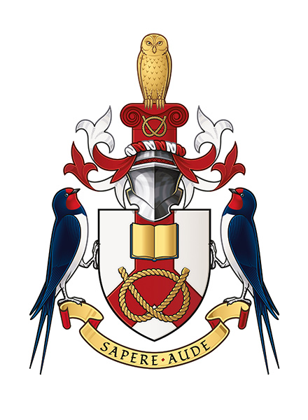 The Staffordshire University coat of arms