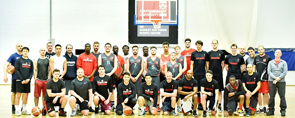 Ten years of basketball society alumni at Staffordshire University