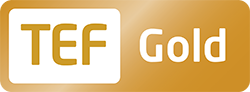 Teaching Excellence Framework (TEF) Gold logo
