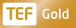 Teaching Excellence Framework (TEF) Gold logo