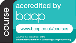 Accredited by BACP logo
