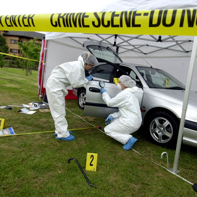 Forensic crime scene investigation