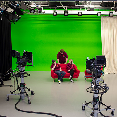 Our TV Studio and Green Screen