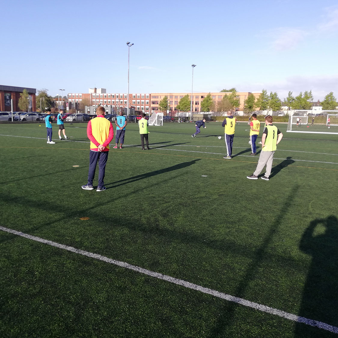 An expert coaching session with the FA's Ronnie Reason