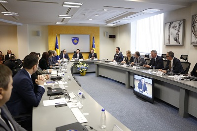 The newly formed Kosovan cabinet held its first meeting this month