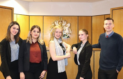 The team will compete in the ICC Moot finals in June