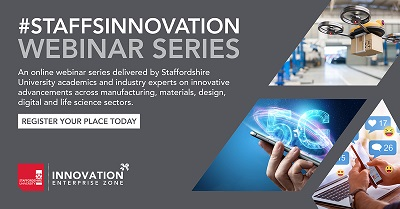 The #StaffsInnovation series offer practical help and to support businesses