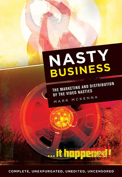 Dr Mark McKenna's new book examines the marketing and distribution of so-called 'video nasties'