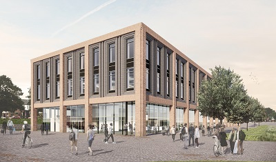 Artists impressions of the Catalyst building