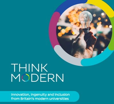 Follow the campaign on social media with the hashtag #ThinkModern
