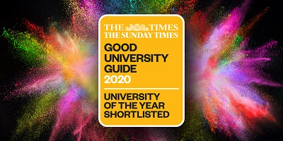Staffordshire University shortlisted for University of the Year