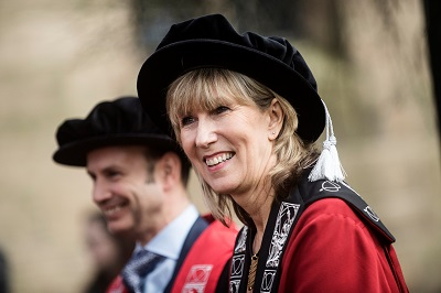 Vice-Chancellor Professor Liz Barnes who is awarded a CBE in the Queen's Birthday Honours