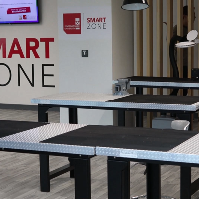 Maker Space, the first floor of The Smart Zone