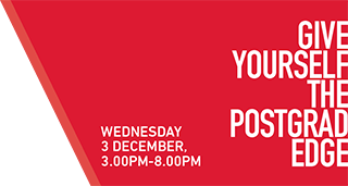 Postgraduate and Professional Fair - Wednesday  December