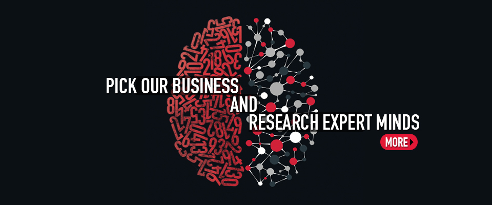 Pick our business and research minds