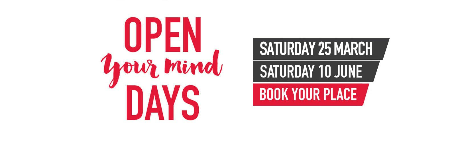 Open Your Mind Day: March and June