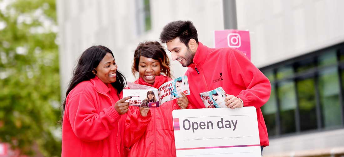 Find out more about Staffordshire University at our next open day