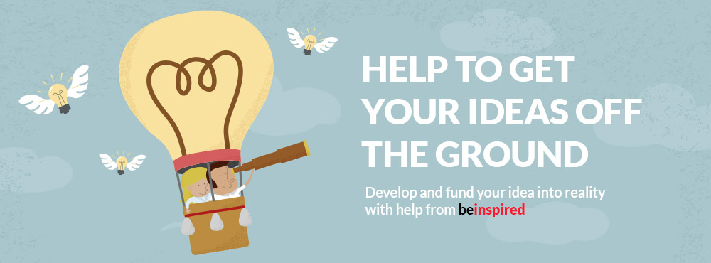 Help to get your ideas off the ground with be inspired at Staffordshire University